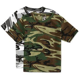 Canada - Code 5 Youth Camo T-shirt