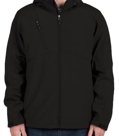 Eddie Bauer Hooded Soft Shell Parka - Black