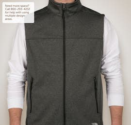 The North Face Ridgeline Soft Shell Vest - Color: Dark Grey Heather