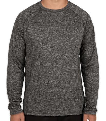 Design rawlings heather long sleeve performance shirts Custom performance t shirts