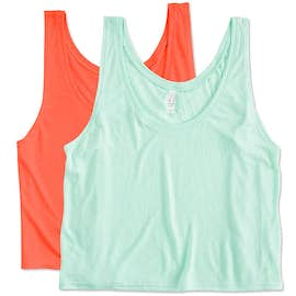 Canada - Bella Ladies Flowy Crop Tank