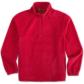 Harriton Quarter Zip Fleece Pullover