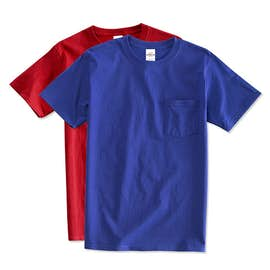 Hanes ComfortSoft® Tagless Pocket T-shirt