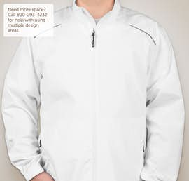 Core 365 Lightweight Full Zip Jacket - Color: White