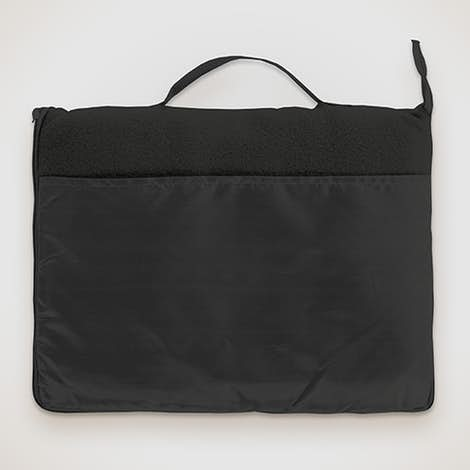 Fleece Travel Blanket - Black