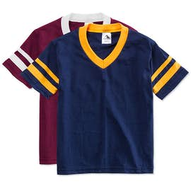 Augusta Youth Double Sleeve Stripe Jersey T-shirt