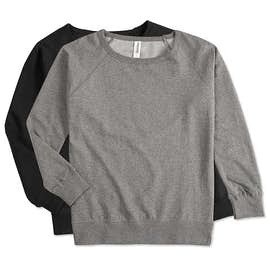 Independent Trading Juniors Lightweight Crewneck Sweatshirt