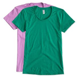 American Apparel Juniors 50/50 T-shirt