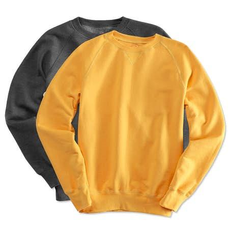 Custom Hanes Nano Crewneck Sweatshirt - Design Crewneck ...
