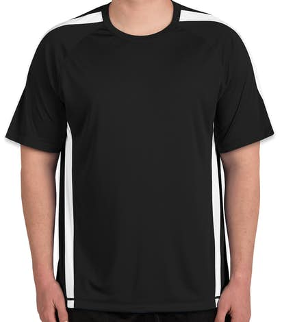 Canada - ATC Competitor Colorblock Performance Shirt - Black / White