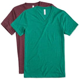 Canvas Tri-Blend V-Neck T-shirt
