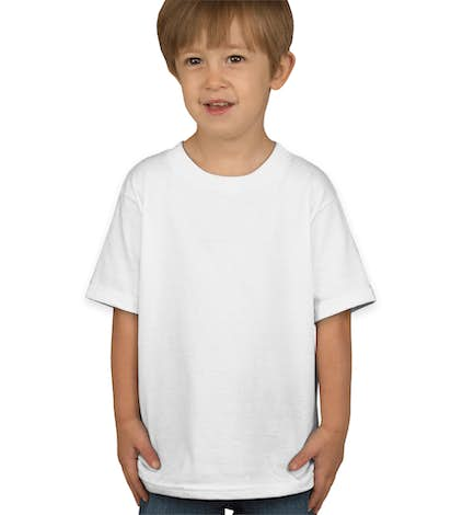Hanes Toddler Tagless T-shirt - White