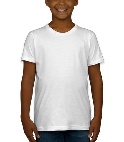 American Apparel Youth Jersey T-shirt - White