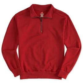 Hanes Nano Quarter Zip Sweatshirt