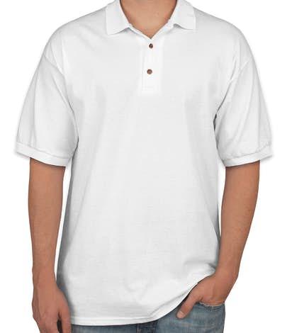 Gildan Ultra Cotton Polo - White
