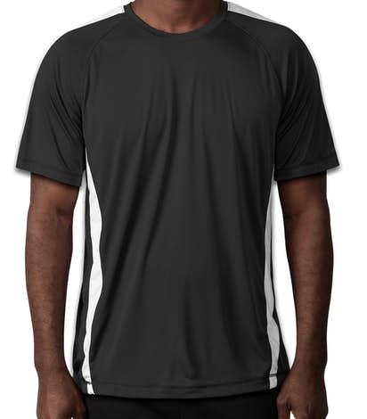Sport-Tek Competitor Colorblock Performance Shirt - Black / White