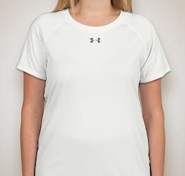 Under Armour Ladies Locker Performance Shirt - Color: White