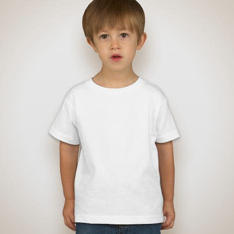 Canada - Rabbit Skins Toddler T-shirt - White