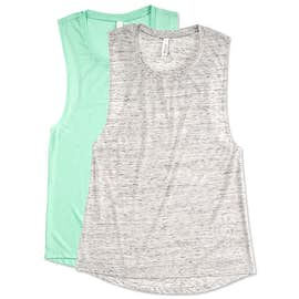 Bella Ladies Flowy Muscle Tank
