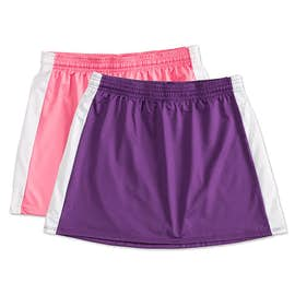 Teamwork Ladies Colorblock Lacrosse Skirt