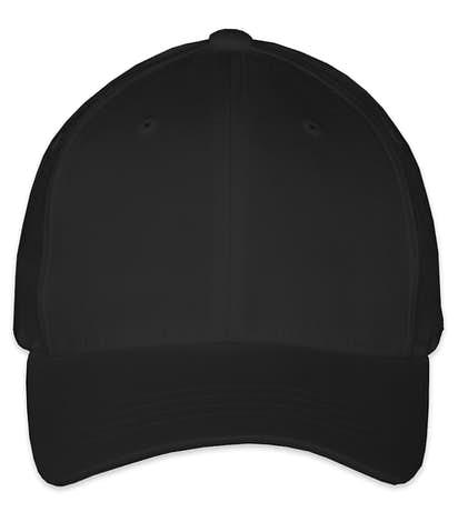 Yupoong Youth Twill Flexfit Hat - Black