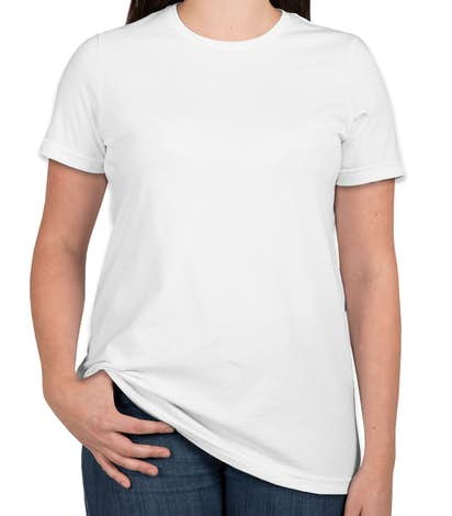 American Apparel Ladies Jersey T-shirt - White
