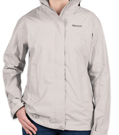 Marmot Ladies Waterproof PreCip Jacket - Platinum