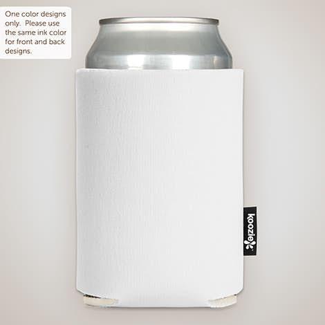 Foldable Can KOOZIE ® - White