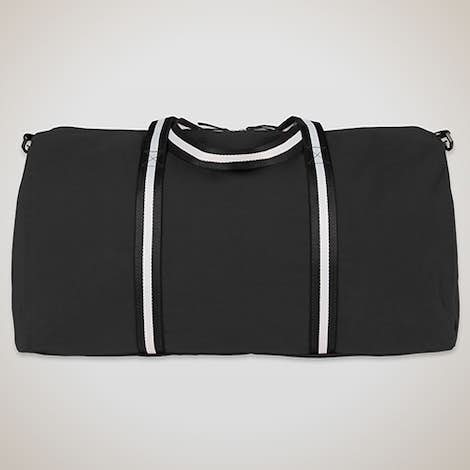 Large Cotton Weekender - Black