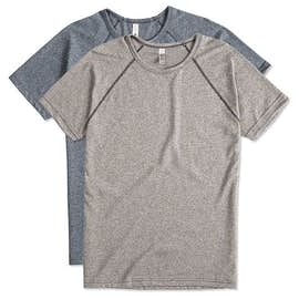 Next Level Melange Raglan T-shirt