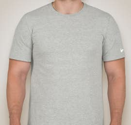 Nike 100% Cotton T-shirt - Color: Dark Grey Heather