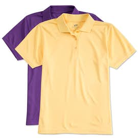 Ultra Club Ladies Mesh Pique Performance Polo