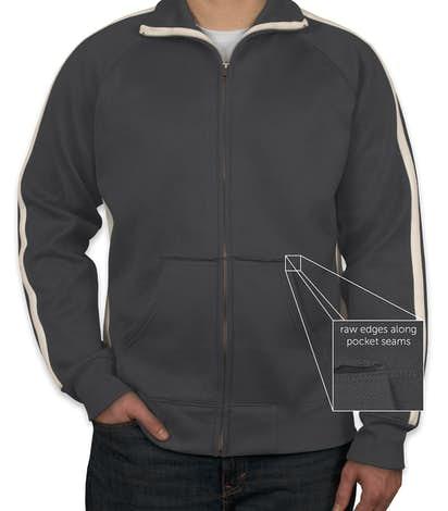 J. America Vintage Track Jacket - Graphite / White