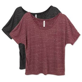 Bella + Canvas Ladies Flowy Melange T-shirt