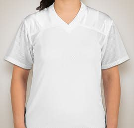 Teamwork Ladies Overtime Replica Jersey - Color: White