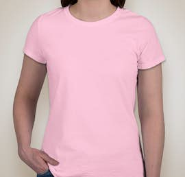 Jerzees Ladies 50/50 T-shirt - Color: Classic Pink