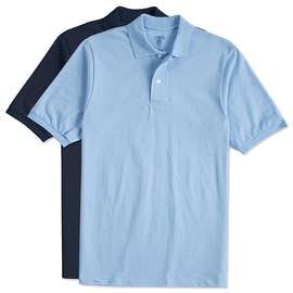 Jerzees Spotshield 50/50 Jersey Polo