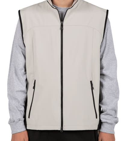 North End Soft Shell Vest - Natural Stone
