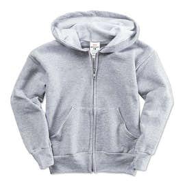 Hanes Youth EcoSmart® 50/50 Zip Hoodie