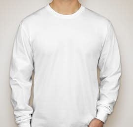 American Apparel Long Sleeve T-shirt - Color: White