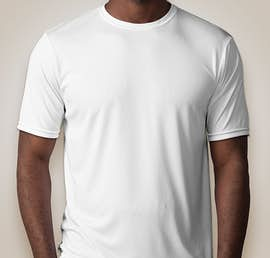 A4 Promotional Performance Shirt - Color: White