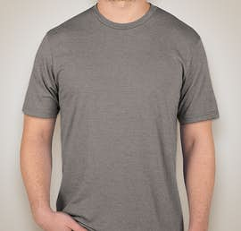 District Made Relaxed Tri-Blend T-shirt - Color: Grey Frost