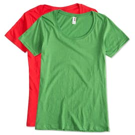 Anvil Ladies Lightweight Scoop Neck T-shirt