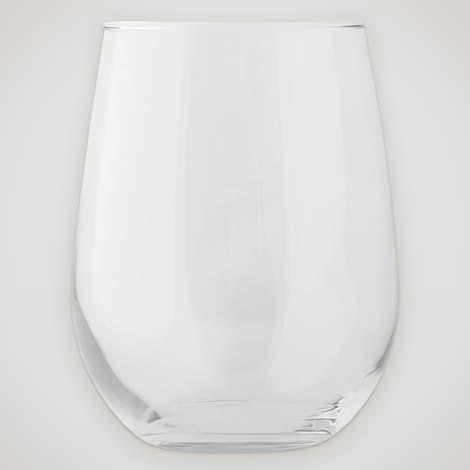 17 oz. Stemless Wine Glass - Clear