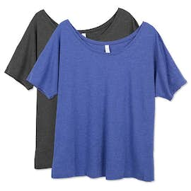 Bella Ladies Tri-Blend Flowy T-shirt