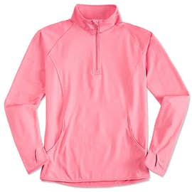 Sport-Tek Ladies Performance Half Zip Pullover