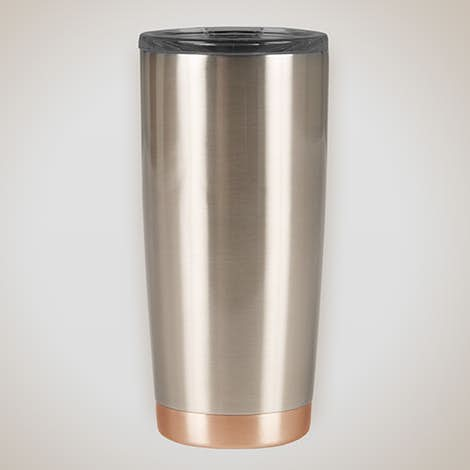20 oz. Stainless Steel Thermal Two-Tone Tumbler - Stainless / Copper