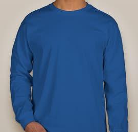 Gildan Ultra Cotton Long Sleeve T-shirt - Color: Royal