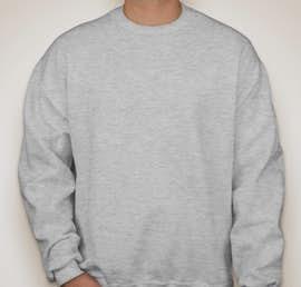 Jerzees Super Sweats® 50/50 Crewneck Sweatshirt - Color: Ash