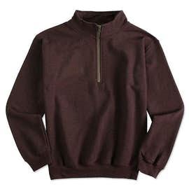 Canada - Gildan Vintage Quarter Zip Sweatshirt